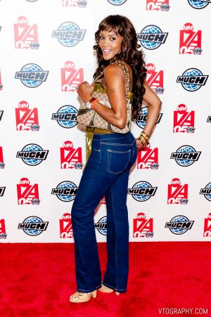 Vivica A. Fox at the 2005 Much Music Video Awards, Toronto, on June 19, 2005