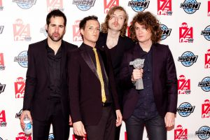 The Killers at the 2005 Much Music Video Awards, Toronto, on June 19, 2005