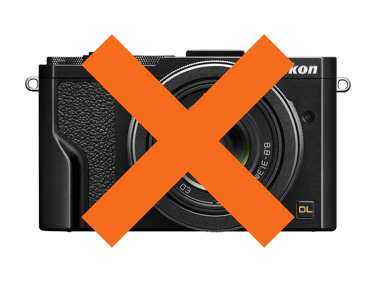 Nikon DL canceled