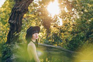 Ashley — portrait shoot with Nikon 85mm lens
