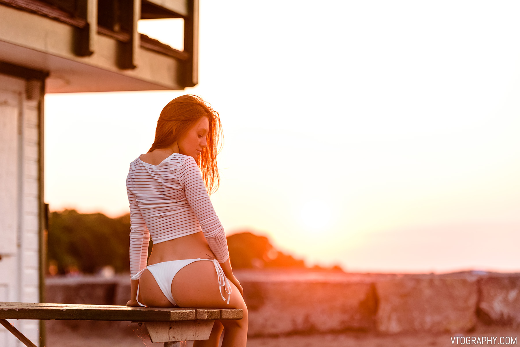 Hannah — sunrise photo shoot